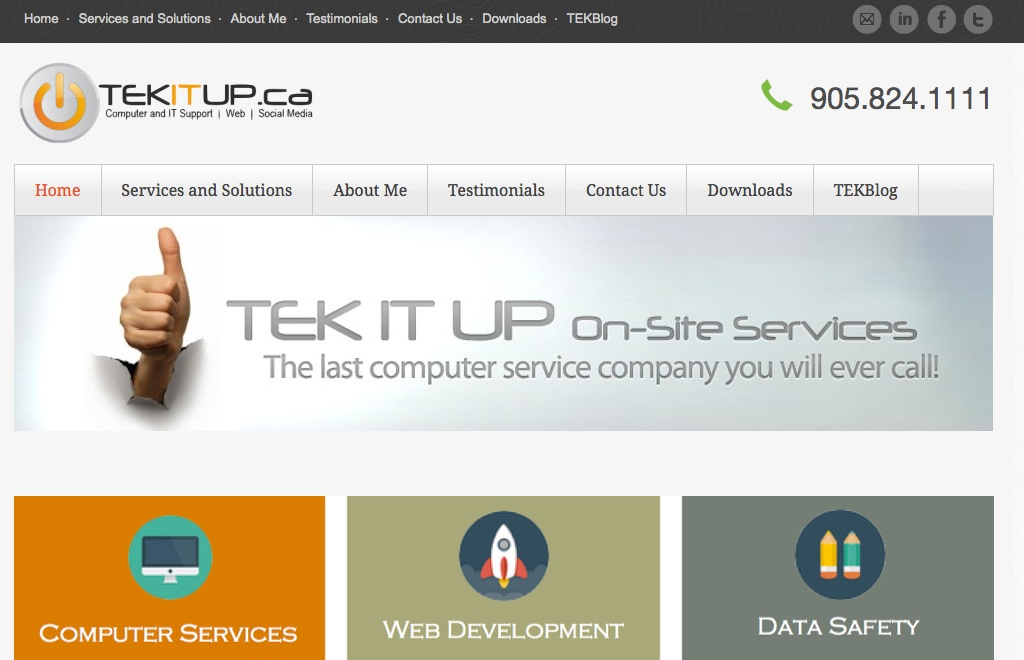 Tek It Up – Computer Services